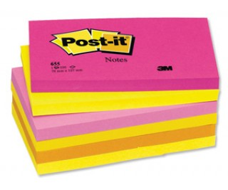 Post-it Not, Tutti-Frutti Serisi Pembe Tonları 76 x 127