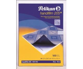 Pelikan 205 HandFilm Mavi Plastik Karbon (100'Lü)
