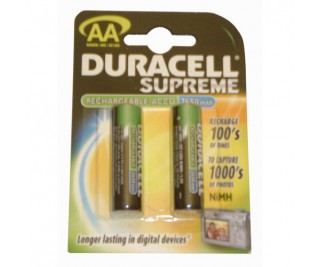 Duracell AA 2'Li Rechargeable Pil